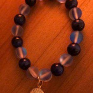Jewelry - Lapis Lazuli & Mystic Aura bead  Bracelet